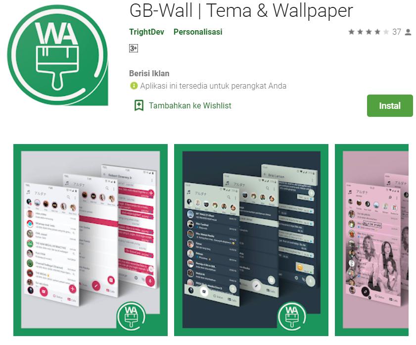 GB-Wall Tema & Wallpaper