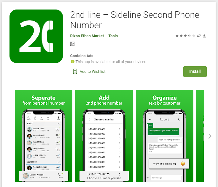 SideLine PlayStore